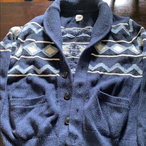 Gap cardigan shawl collar